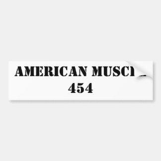 AMERIKAANSE SPIER 454 BUMPERSTICKER