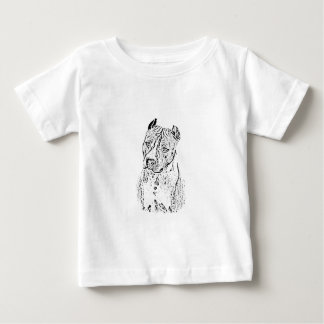 Amerikaanse Staffordshire Terrier Baby T Shirts