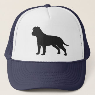 Amerikaanse Staffordshire Terrier met Slappe Oren Trucker Pet