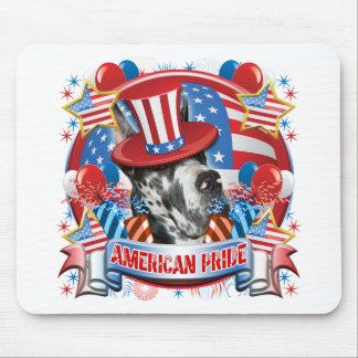 Amerikaanse Trots Great dane Muismatten