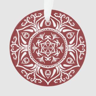 Amerikaanse veenbes Mandala Ornament