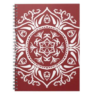 Amerikaanse veenbes Mandala Ringband Notitieboek
