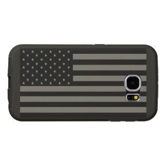 Amerikaanse Vlag Camo Samsung Galaxy S6 Hoesje