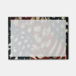 Amerikaanse vlag-Camouflage Post-it® Notes