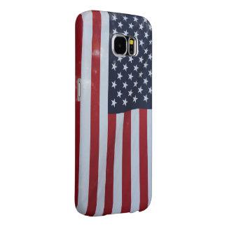 Amerikaanse Vlag. De V.S. De Melkweg van Samsung Samsung Galaxy S6 Hoesje