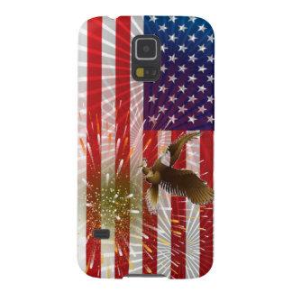 Amerikaanse Vlag Galaxy S5 Hoesje