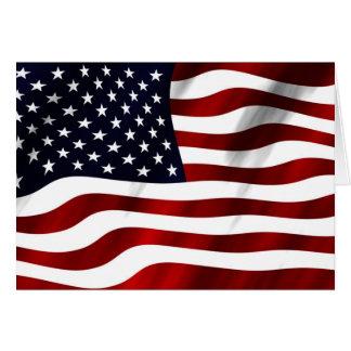 Amerikaanse Vlag Notitiekaart