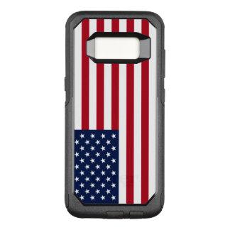Amerikaanse Vlag OtterBox Commuter Samsung Galaxy S8 Hoesje