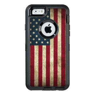 Amerikaanse Vlag OtterBox Defender iPhone Hoesje