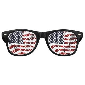 Amerikaanse Vlag Retro Zonnebril