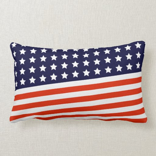 Amerikaanse Vlag - Rood, Wit en Blauw Kussentjes : Zazzle