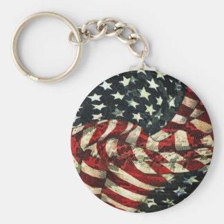 Amerikaanse Vlag Sleutelhanger
