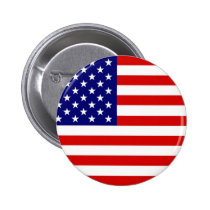 Amerikaanse Vlag Speld Button