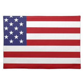 Amerikaanse Vlag - Sterren en Strepen - Oude Placemat