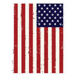Amerikaanse Vlag, USA/US Briefkaart