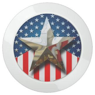 Amerikaanse Vlag USB Oplaadstation