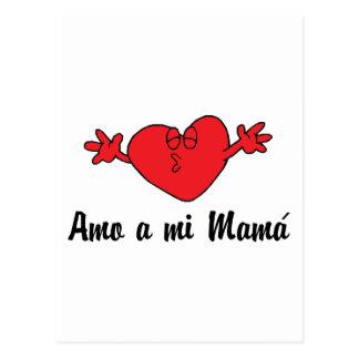 Amo een mi Mamma Briefkaart