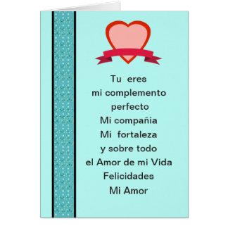 Amor DE mi Vida van San Valentin Gr Briefkaarten 0