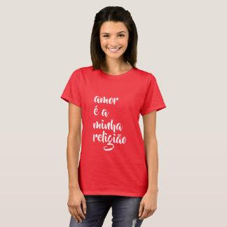 amor é een minhareligião t shirt