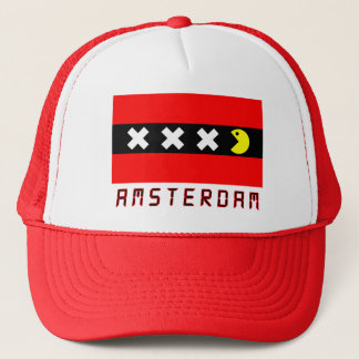 Amsterdam gamer Cap By Amsterdamned Trucker Pet