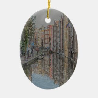 Amsterdam Keramisch Ovaal Ornament