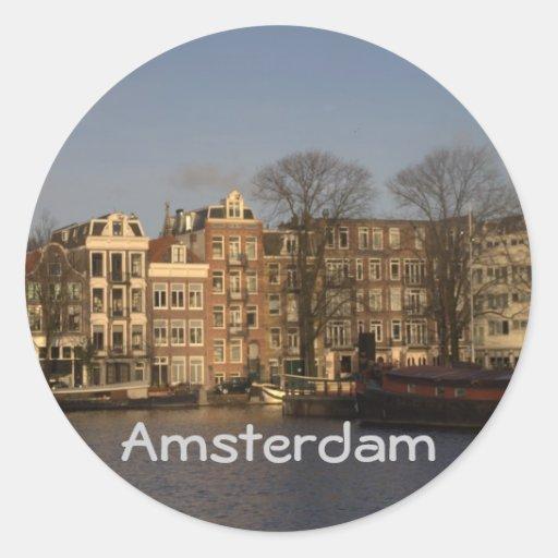 Amsterdam Ronde Sticker
