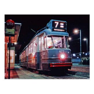 amsterdamse tram briefkaart