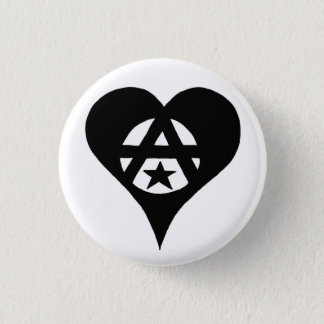 Anarchist Ronde Button 3,2 Cm