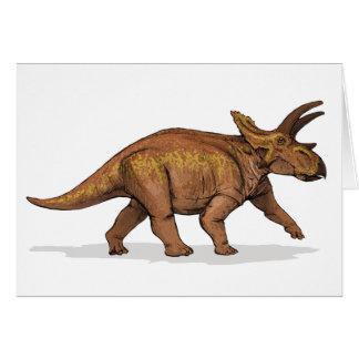 Anchiceratops - Krijtachtige Dinosaurus Kaart