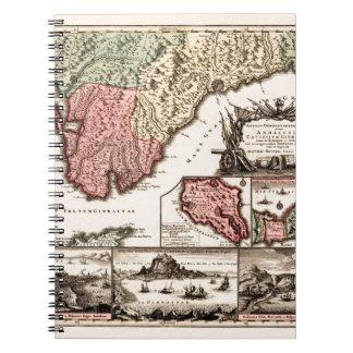 Andalusia 1720b notitieboek