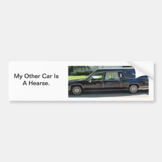 Andere Auto Bumpersticker