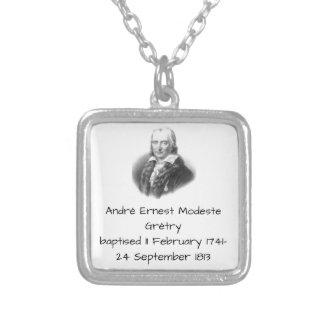 André Ernest Modeste Gretry Zilver Vergulden Ketting