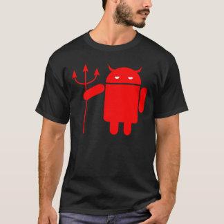 Androïde duivel t shirt