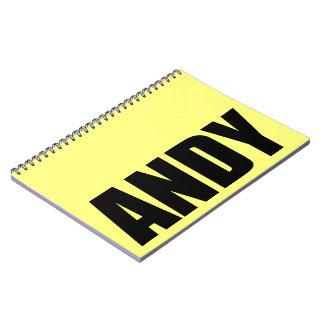 Andy Ringband Notitieboek