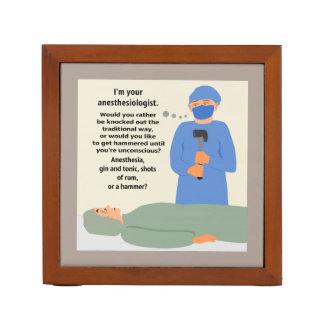 Anesthesiologist zal u Gehamerd krijgen Pennenhouder