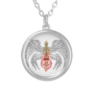 angel_queen_2 zilver vergulden ketting