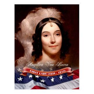 Angelica Van Buren, Presidentsvrouw van de V.S. Briefkaart