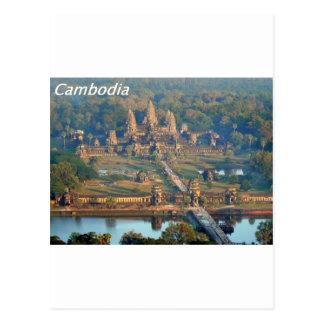 - Angkor-WAT-Angie. Briefkaart