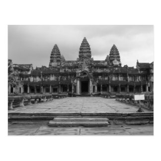 Angkor Wat B&W Briefkaart