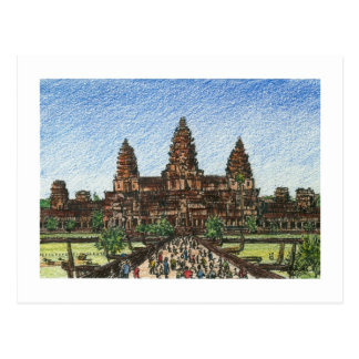Angkor Wat Briefkaart