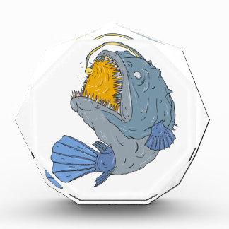Anglerfish die omhoog de Tekening van het Prijs