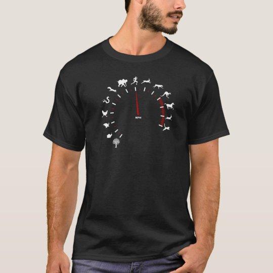 animal speedometer t shirt