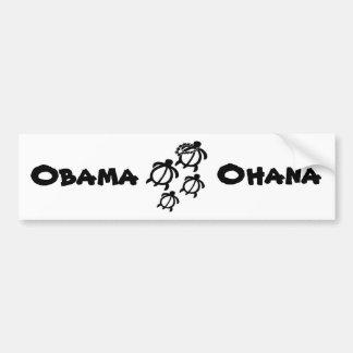 Animals_Honu_Ohana_Small, Obama, Ohana Bumpersticker