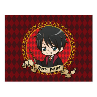 Anime Harry Potter Briefkaart
