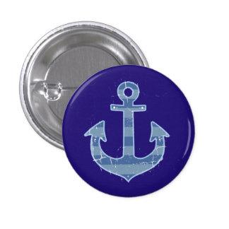anker van de zee het zeevaartmarine ronde button 3,2 cm