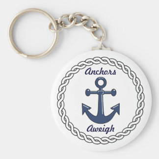 Ankers Aweigh Keychain Sleutelhanger