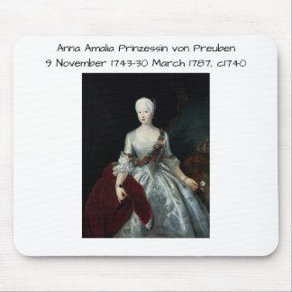 Anna Amalia Prinzessin von Preuben c1740 Muismatten