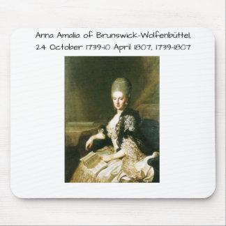 Anna Amalia van Brunswick-Wolfenbuttel 1739-1807 Muismat