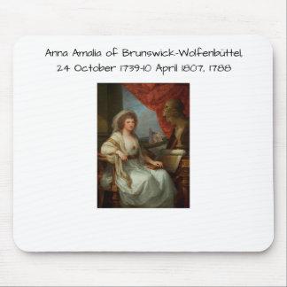 Anna Amalia van Brunswick-Wolfenbuttel 1788 Muismatten