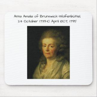 Anna Amalia van Brunswick-Wolfenbuttel 1795 Muismatten
